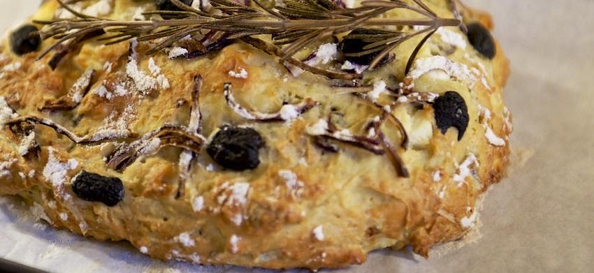 Lekker voedzaam olijvenbrood